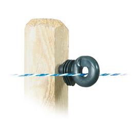 Litzen-Isolatoren für Holzpfähle