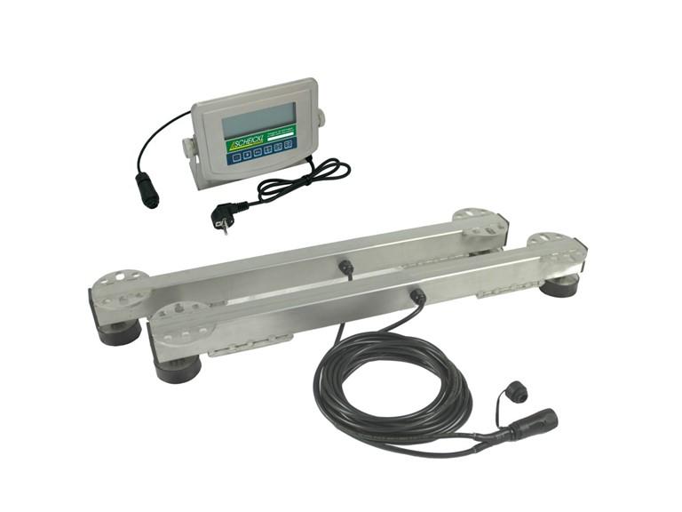 Wiegebalken 600:   Elektronische Anzeigeeinheit HD01   Einsetzbar im Freien, im Stall oder Fre