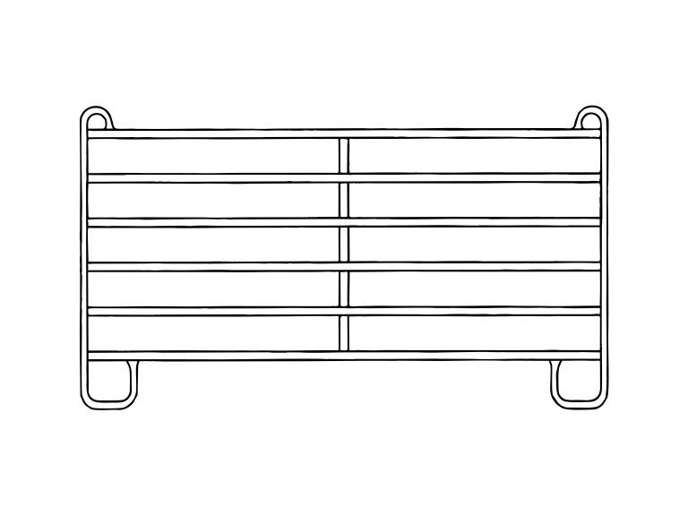 Panel 3,00m:   Die mobilen Zaunelemente / Panele haben sich seit Jahren in der modernen Vie