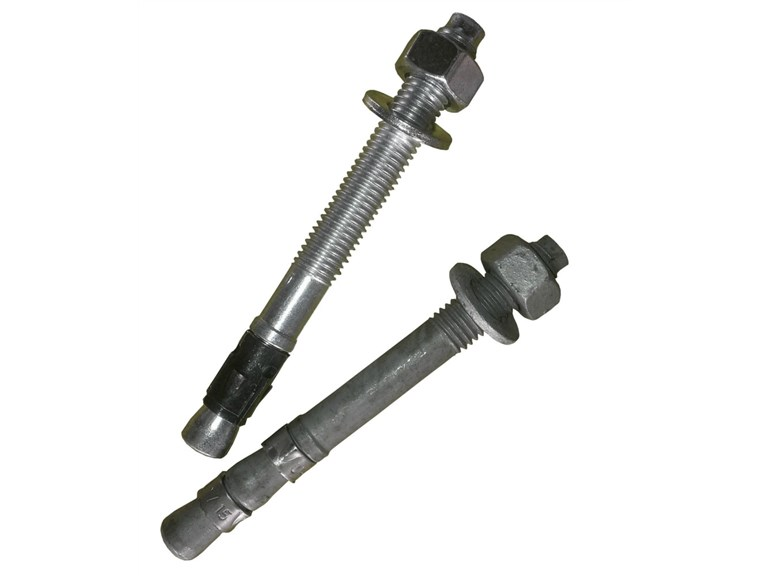 Schwerlastanker:   Schwerlastanker M12 x 110 Erhältlich in feuerverzinkt oder A4 Edelstahl.