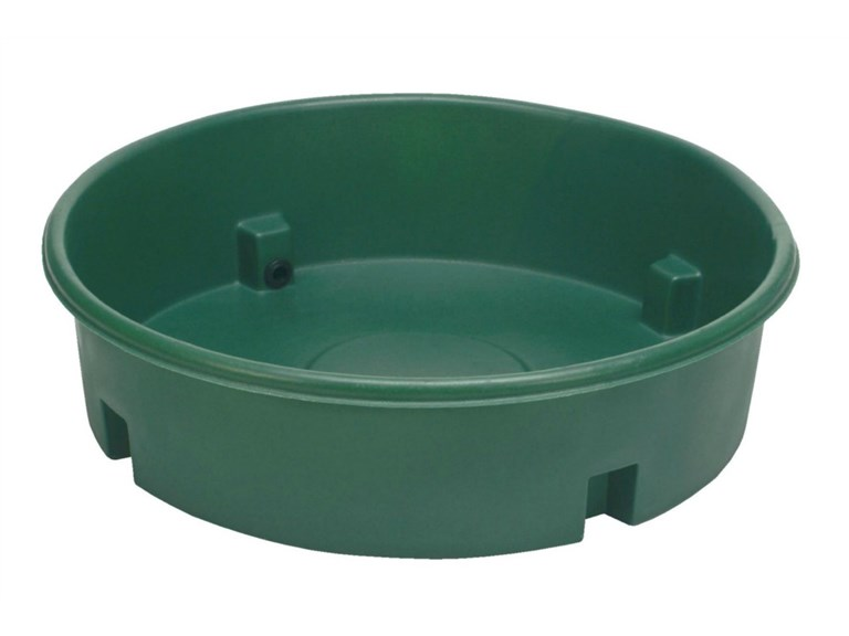 Weidetränke ECO, für Schafe:   Weidetränke aus hochstabilem Polyethylen.  Einhängeschwimmer bei Bedarf bi