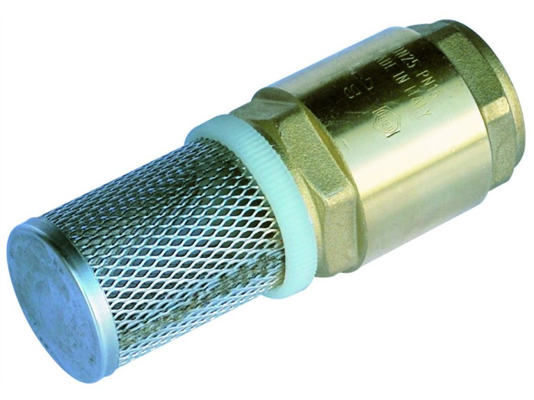 Saugkopf mit Anti-Rücklauf-Ventil:   Saugkopf mit Anti-Rücklauf-Ventil, ohne Schlauch   Für Polypump