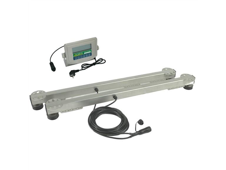 Wiegebalken 990:   Elektronische Anzeigeeinheit HD01   Einsetzbar im Freien, im Stall oder Fre