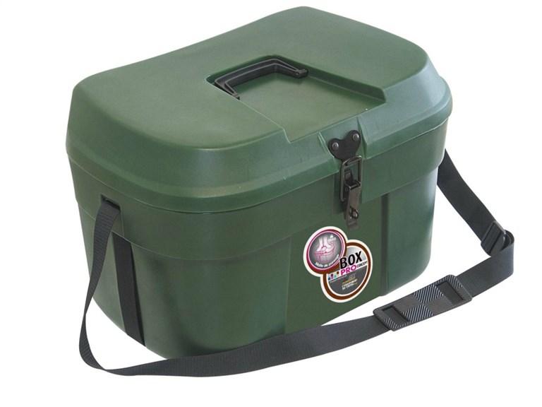 Box PRO XXL:   Diese Kisten aus rotationsgeformten Polyethylen sind ideal um Ordnung in Ihr