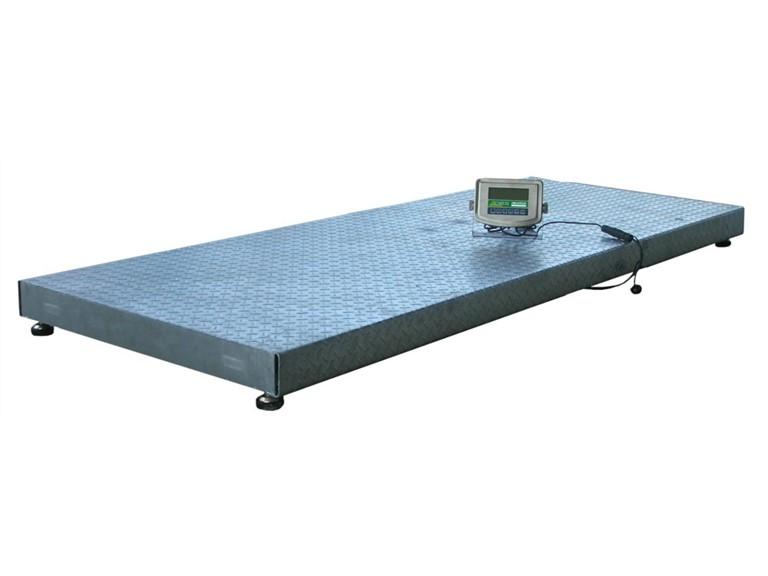 Wiegeplattform 2T:   Elektronische Anzeigeeinheit HD01   Einsetzbar im Freien, im Stall oder Fre
