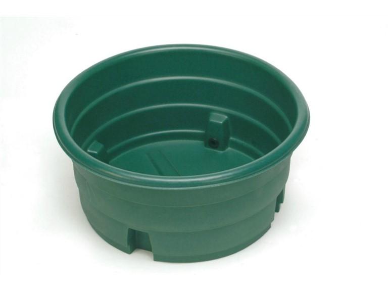 Weidetränke ECO:   Weidetränke aus hochstabilem Polyethylen.  Einhängeschwimmer bei Bedarf bi