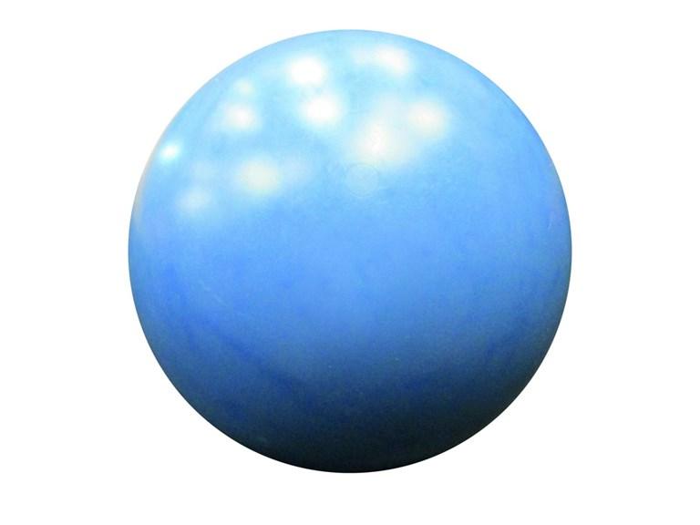Kunststoffball für POLYTHERME:   Jede POLYTHERME kann mit Kunststoffball oder Aluminium-Schale ausgestattet w