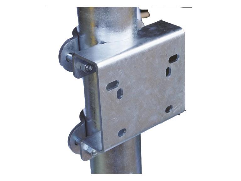 Schelle zur Säulenbefestigung für RESINOX:   Zur Befestigung von Tränken an Säule, feuerverzinkt.  Für: RESINOX  Ein