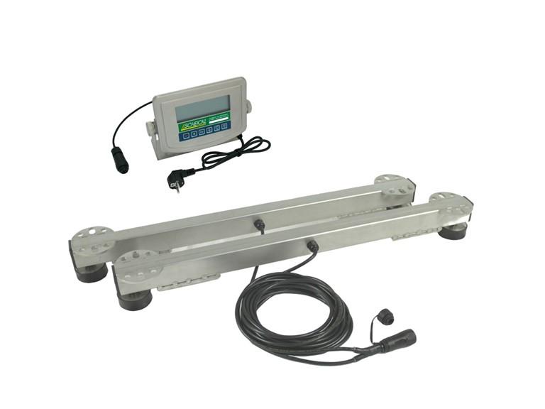 Wiegebalken 700:   Elektronische Anzeigeeinheit HD01   Einsetzbar im Freien, im Stall oder Fre